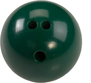 Cosom Bowling Balls, With Extra Finger Holes, For Elementary School Physical Education, Special Needs, Youth Party Game, Rubberized Bowling Ball, Kids Bowling Ball, 5 Pounds, Green