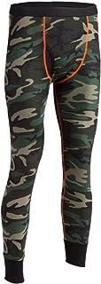 Indera Men's Woodland Camo Thermal Underwear Pant