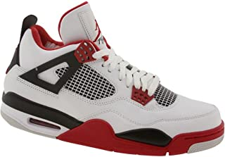 Air Men 4 Retro - Mars (White/Varsity red/Black) Size 7.5 US