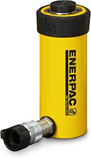 Enerpac RC-102 Single-Acting Alloy Steel Hydraulic Cylinder with 10 Ton Capacity, Single Port, 2.13