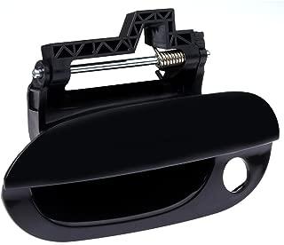 SCITOO Door Handle Exterior Front Left Side fit BMW 525i 528i 530i 540i M5 Smooth Black(1pc)