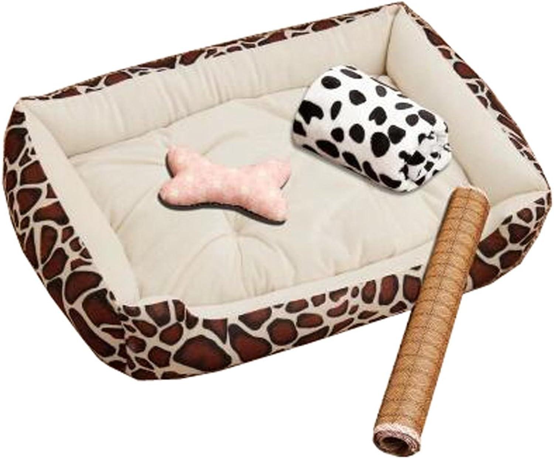 Detachable & Durable House Pet Mat Pet Bed Pet House Kennel Pet Supplies, NO.17
