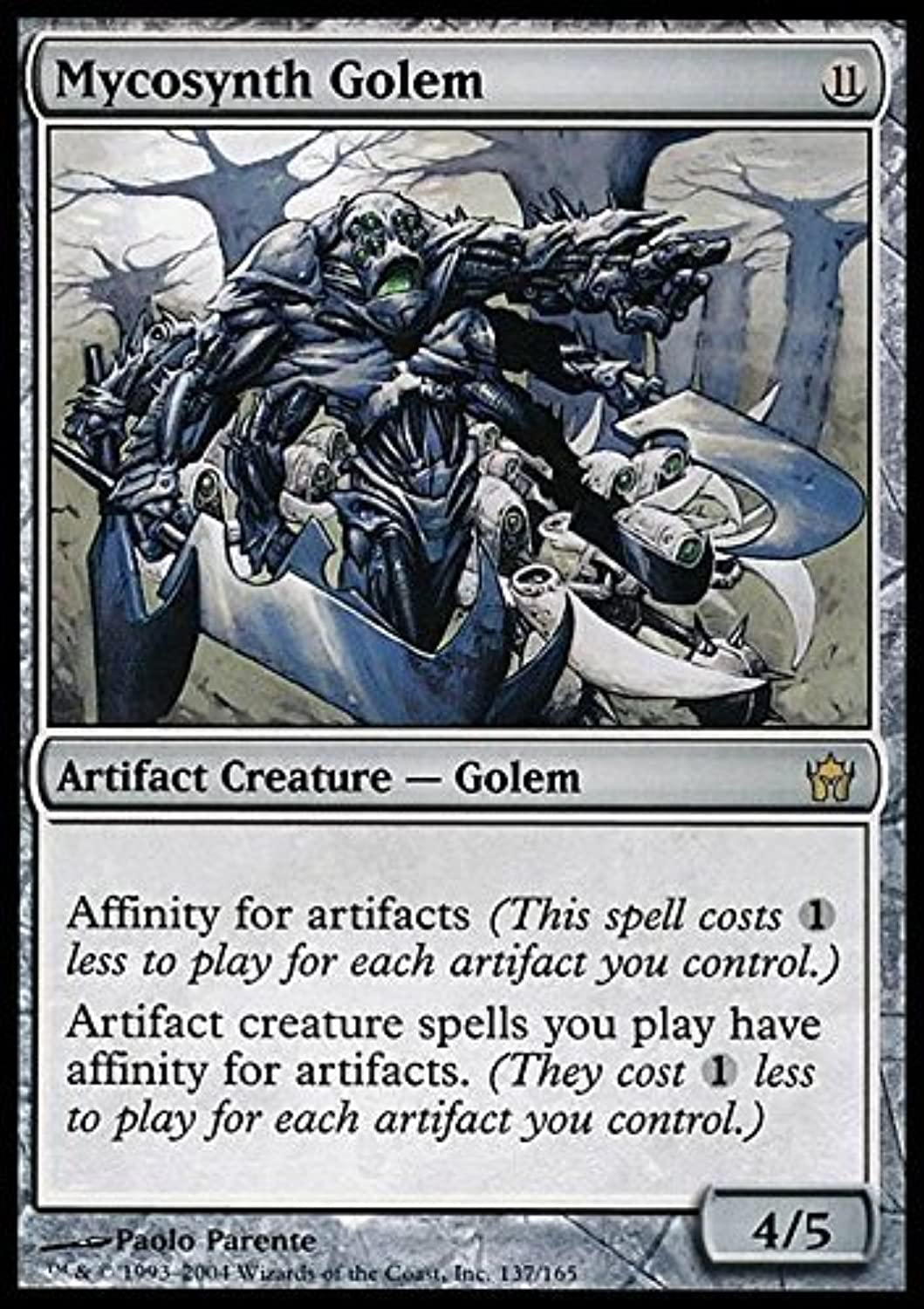 Magic  the Gathering  Mycosynth Golem  Fifth Dawn by Magic  the Gathering