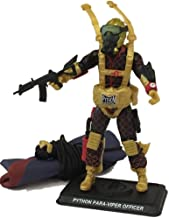 JoeCon 2018 Cobra GI Joe Convention Exclusive Python Patrol Officer Para-Viper Paratrooper Bagged 3 3/4 Inch Action Figure