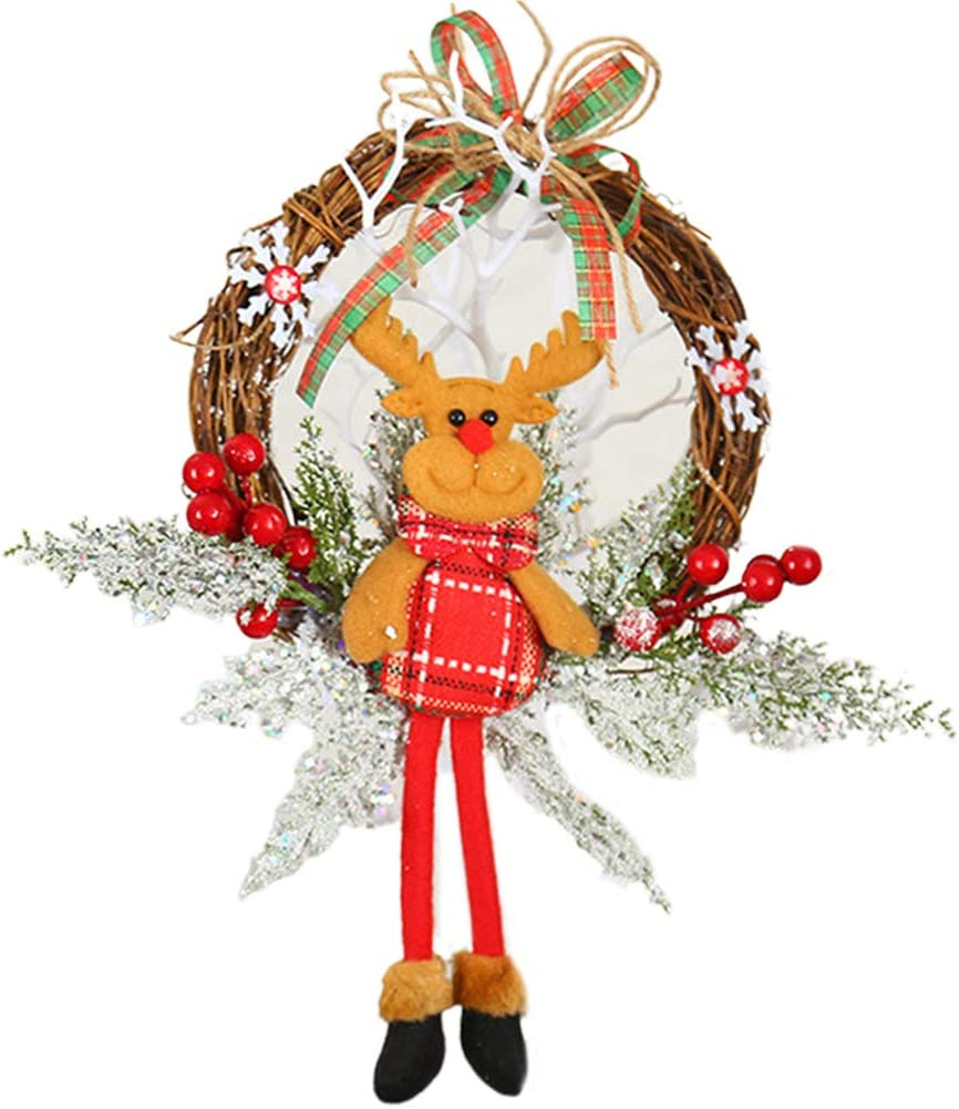 yuxinger Wreaths for Wall Decor New life Element Christmas Door Indianapolis Mall Dea Front