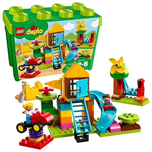 LEGO DUPLO Large Playground Brick Box 10864 Building Block (71 Pieces)