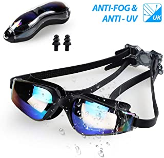 Innoo Tech Swimming Goggles Swim Glasses, Adults Swim Goggles for Adults Kids Youth | No Leaking Anti Fog UV Protection with Protection Case