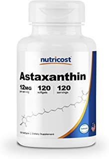 Nutricost Astaxanthin 12mg, 120 Softgels