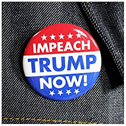 Impeach President Trump Button