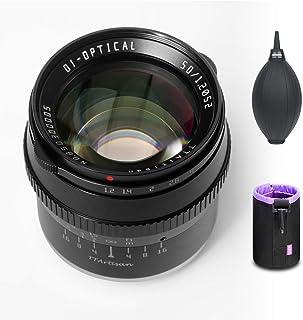 【正規品&1年保証】銘匠光学 TTartisan 50mm F1.2 APS-C 大口径 マニュアルフォーカス単焦点レンズ ソニーEマウントカメラ対応