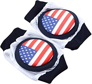 Baby Knee Pads,Safety Baby Kids Crawling Elbow Cushion Infants Toddlers Knee Pads Protectors Multifunctional(Color:Blue,Black,Pink)