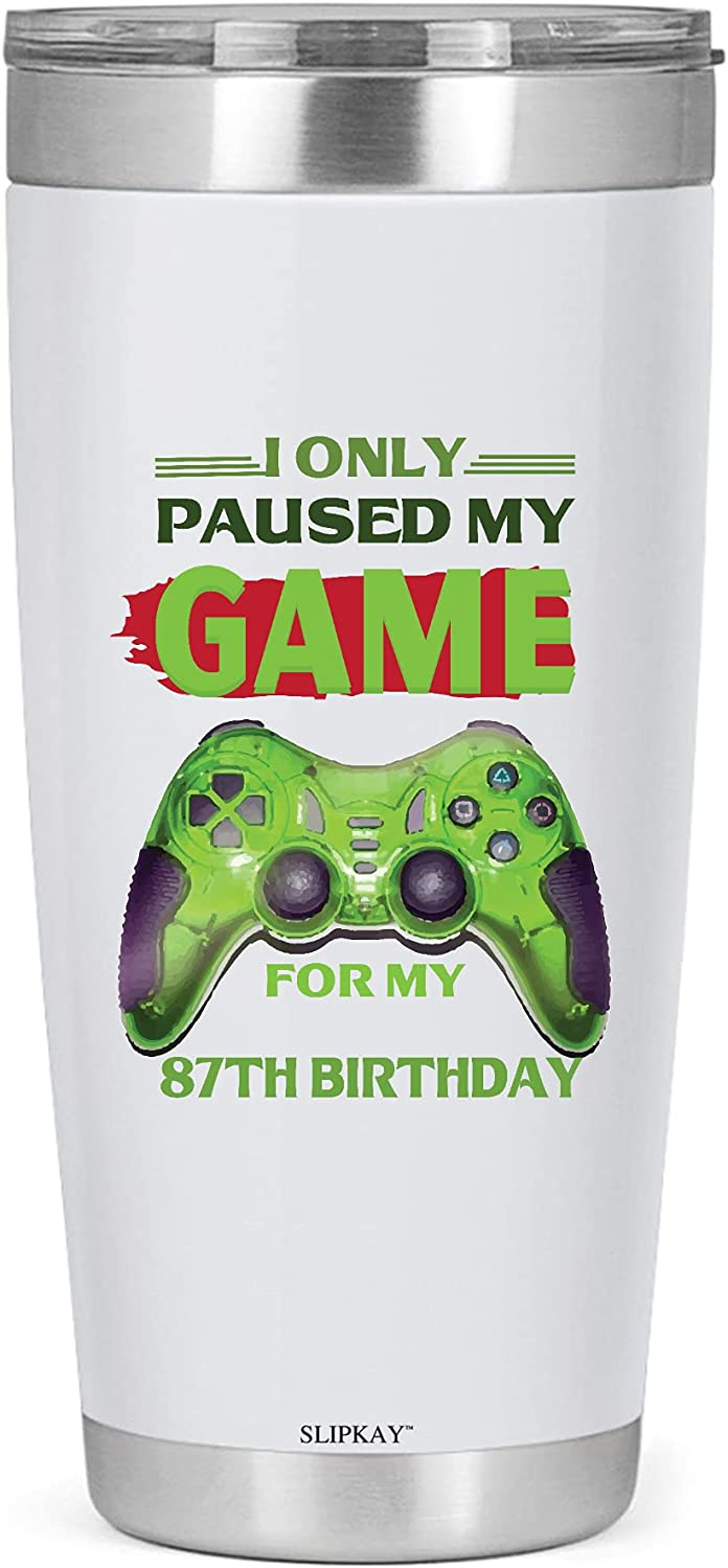 BRUCE Only Paused My Game Long-awaited Max 56% OFF Tumbler Birthday 20oz 87th
