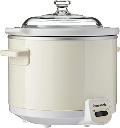 Panasonic Slow Cooker, White, 1.5 L, (NF-N15WSP)