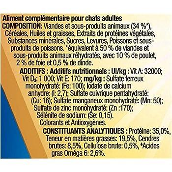 FELIX - Original : Poulet, Foie et Dinde - 200g - Lot de 5