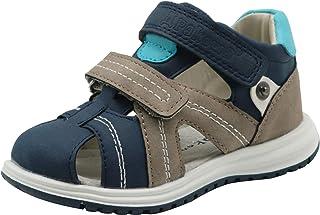 e38b419de27bd Apakowa Toddler Boys Double Adjustable Strap Closed-Toe Sandals Arch Support