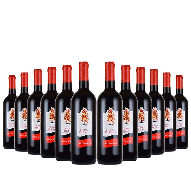 テッラ?フレスカ ロッソ イタリア 赤ワイン メルロ ライトボディ 750mlx12本