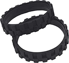 Tires for IROBOT ROOMBA Wheels Series 500, 600, 700, 800 and 900 (Pack of 2) Anti-Slip, Great Adhesion and Easy Assembly. ...