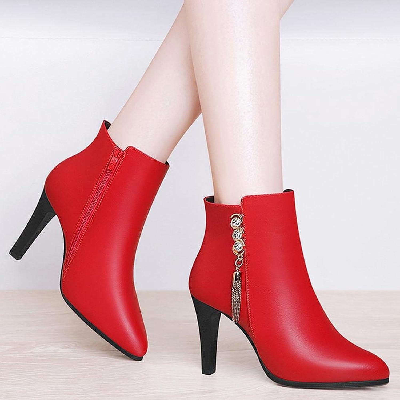 AIURBAG AIURBAG AIURBAG Damen Schuhe Kunststoff Herbst Winter Modische Stiefel Stiefeletten Stiefel Stiefelies Stiefeletten Für Kleid Party & Festivität Schwarz  9afbb2