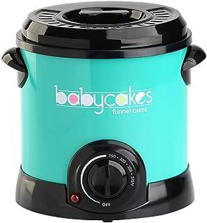 Babycakes DF-101 Funnel Cake Fryer, Turquoise