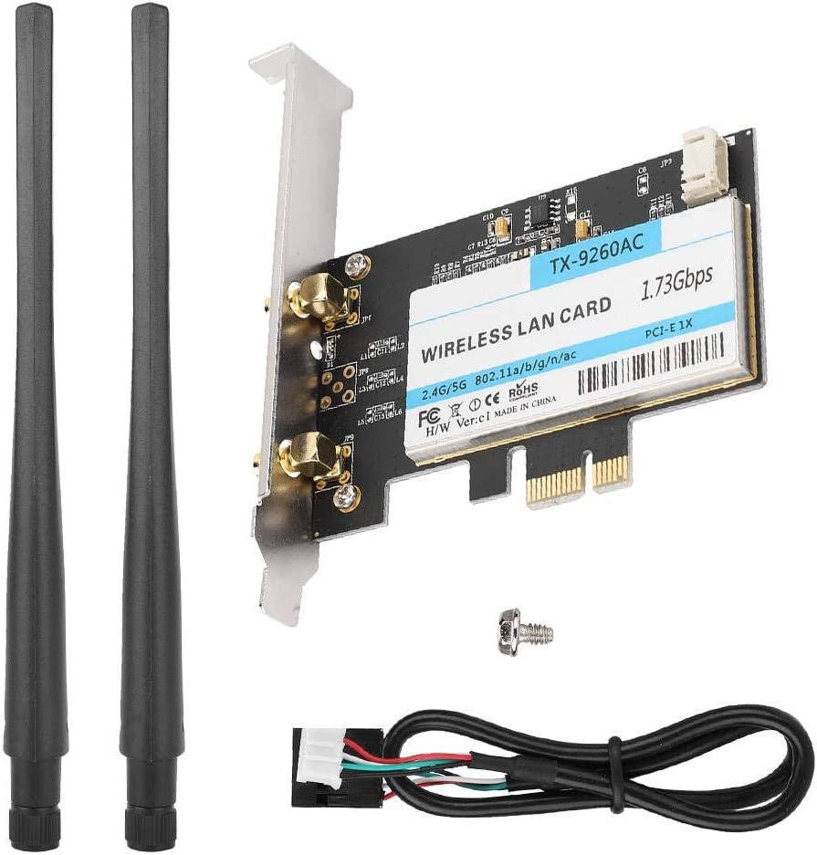 Tosuny Bluetooth Max 67% OFF 5.0 Max 47% OFF Wireless WiFi Network PCIE Netwo Card