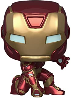 Funko Pop! Marvel: Avengers Game - Iron Man (Stark Tech Suit), Multicolor