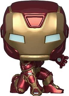 Funko Pop! Marvel: Avengers Game - Iron Man (Stark Tech Suit), Multicolor
