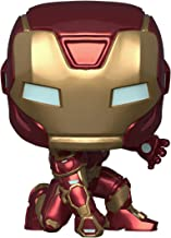 Funko - Pop! Marvel: Avengers Game - Iron Man (Stark Tech Suit) Figurina de Colección, Multicolor, 47756