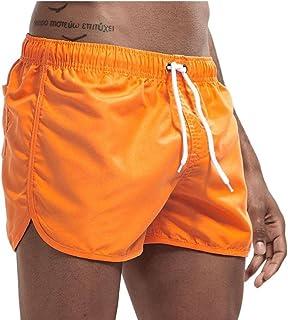 Yililay Men Swimwear Swim Shorts Trunks Beach Board Shorts Swimming Pants Swimsuits Men Running Sports Surffing shorts 3XL
