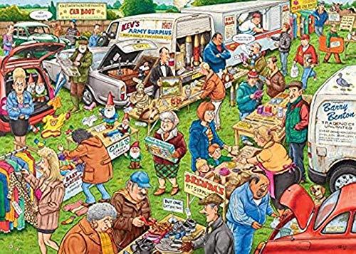 VGFTP 1000 stukjes puzzel, houten volwassenen legpuzzels, kinderen decompressie puzzel voor volwassenen kind cadeau woondecoratie-auto boot verkoop anime