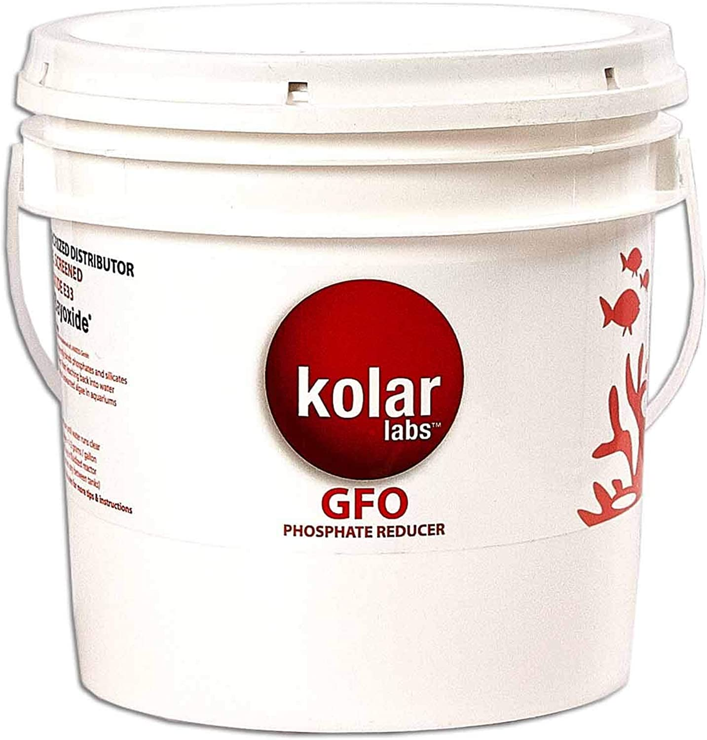 Kolar Filtration GFO  4 lb Bucket Bulk GFO Phosphate Removal Media Aquarium filter Algae Reducer