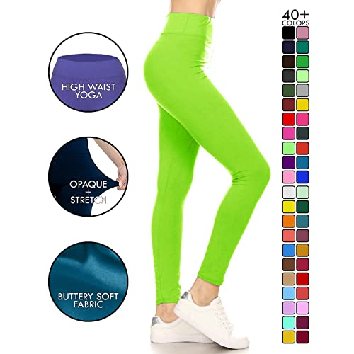 5f5940e0cdb Lime Green Yoga Pants: Amazon.com