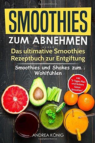 SMOOTHIES ZUM ABNEHMEN: Das ultimative Smoothies Rezeptbuch zur Entgiftung: Smoothies und Shakes zum Wohlfüh- len inkl. 3-Tages Plan und leckere Saison-Smoothies