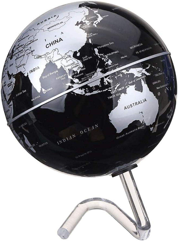 Batteriebetriebene Automatik Drehen Weltkugel Terreste Karte Erde Tellurion Tellurion Tellurion Dekoration Schule Geographie Bildung (Farbe   schwarz) B07PLBBT3L   Online Kaufen  90b18a