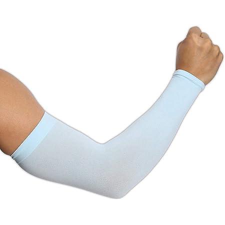 Housse de Protection UV Douce et Respirante Couvercles de Refroidissement pour Les Bras Extensibles aux Coudes Manches de Protection pour Bras de Sport TAGVO Manchettes