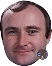 Phil Collins (Smile) Masks of famous people, cardboard faces
