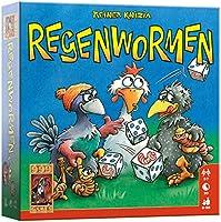 999 Games - Regenwormen Dobbelspel - Basisspel vanaf 8 jaar - Een van de beste spellen van 2006 - Reiner Knizia - Push...