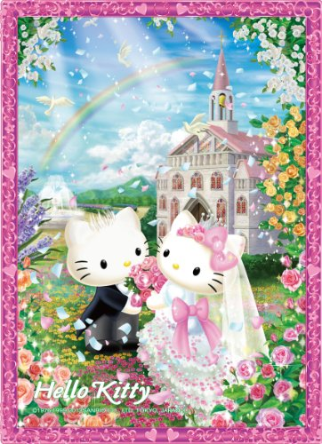 Crystal puzzle 165 piezas Hello Kitty boda dulce CJP-004 (jap?n importaci?n)
