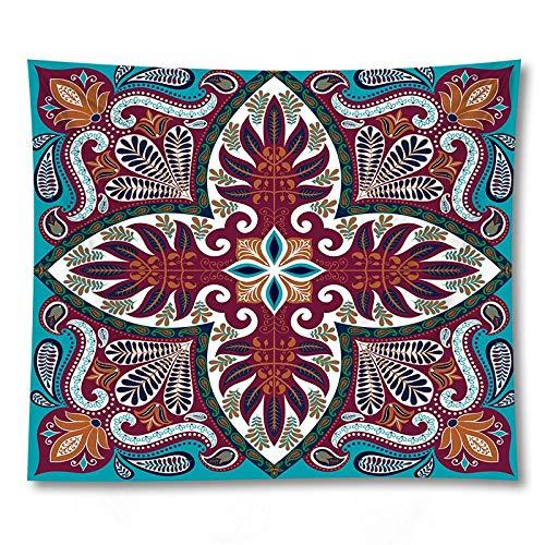 Serie Mandala Arazzo da appendere a parete Stampa Coperta di Pizzo Decorazione per la casa Sfondo di stoffa Appeso Panno A11 180x200cm