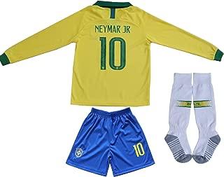 brazil football shorts junior