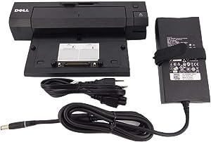 Dell PR02X E-Port E/Port Plus USB 3.0 Port Replicator - Docking Station with 130 Watt PA-4E Power Adapter (Renewed)