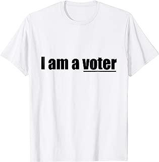 Best i am a voter t shirt Reviews
