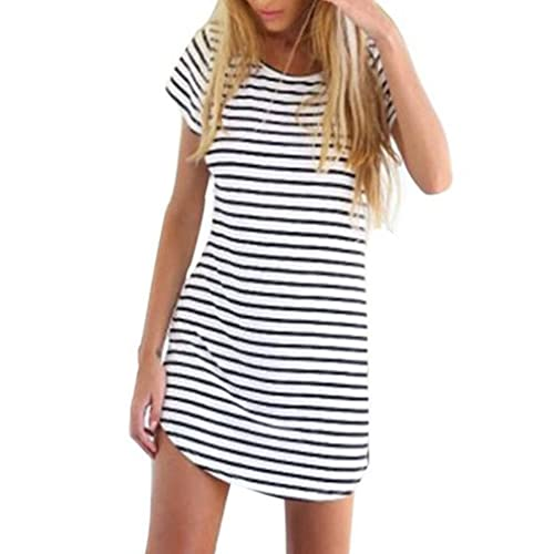0cdca3c2df264 Black and White Stripes Dress: Amazon.com
