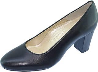 VOLTIGE Alarm Free - Les Escarpins D'HOTESSES by Uniform-Shoes - Escarpins Hôtesses Uniforme Bout Rond Fin Talon Stable Co...