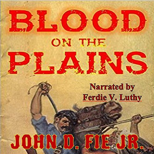 Blood on the Plains audiobook cover art