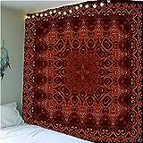 QWEFGDF Tapices de dormitorio Decoración de tapiz utilizada para decoración de fondo 100x150 cm Patrón de flores