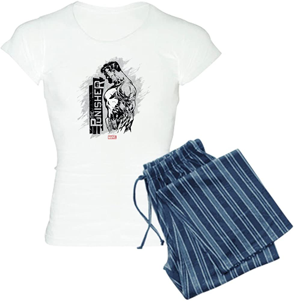 CafePress Punisher Side Safety and trust Profile Memphis Mall PJs Women's