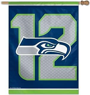 NFL Seattle Seahawks 12th man 27 x 37 Inch Vertical Flag