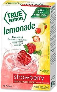 True Citrus Lemonade, Lemon Strawberry, 1.06 Ounce (Pack of 12)