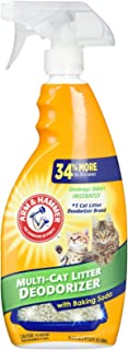 Arm and Hammer Cat Litter Deodorizer Spray, 21.5 Fl Oz