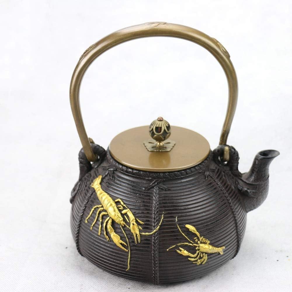 TEAYASON Iron Kettle Imitated Southern Japan Cast Iron Kettle Lo